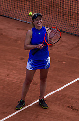 June 5, 2017 - Paris, France - Elina Svitolina of Ukraine wins over Petra Martic of Croatia during the fourth round at Roland Garros Grand Slam Tournament - Day 9 on June 5, 2017 in Paris, France. (Credit Image: © Robert Szaniszlo/NurPhoto via ZUMA Press)