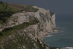 Dover/Kent/England - The White Cliffs. Dover is a major port on the south-east coast of England. Situated in the county of Kent, it faces France across the English Channel.