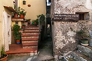 A view of the village of Aieta, Italy. Aieta (also written in Ajeta form) is an Italian municipality of 814 inhabitants in the province of Cosenza in Calabria. Municipal territory is an integral part of the Pollino National Park.