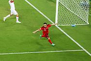 Xherdan Shaqiri of Switzerland celebrating his goal 3-1 during the UEFA Euro 2020, Group A football match between Switzerland and Turkey on June 20, 2021 at Baku Olympic Stadium in Baku, Azerbaijan - Photo Orange Pictures / ProSportsImages / DPPI