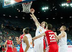 09-09-2015 CRO: FIBA Europe Eurobasket 2015 Nederland - Kroatie, Zagreb<br /> Robin Smeulders of Netherlands during basketball match between Netherlands and Croatia. Photo by Vid Ponikvar / RHF