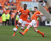Blackpool's Matty Virtue (right) and Armand Gnanduillet<br /> <br /> Photographer Stephen White/CameraSport<br /> <br /> The EFL Sky Bet League One - Blackpool v Fleetwood Town - Monday 22nd April 2019 - Bloomfield Road - Blackpool<br /> <br /> World Copyright © 2019 CameraSport. All rights reserved. 43 Linden Ave. Countesthorpe. Leicester. England. LE8 5PG - Tel: +44 (0) 116 277 4147 - admin@camerasport.com - www.camerasport.com<br /> <br /> Photographer Stephen White/CameraSport<br /> <br /> The EFL Sky Bet Championship - Preston North End v Ipswich Town - Friday 19th April 2019 - Deepdale Stadium - Preston<br /> <br /> World Copyright © 2019 CameraSport. All rights reserved. 43 Linden Ave. Countesthorpe. Leicester. England. LE8 5PG - Tel: +44 (0) 116 277 4147 - admin@camerasport.com - www.camerasport.com