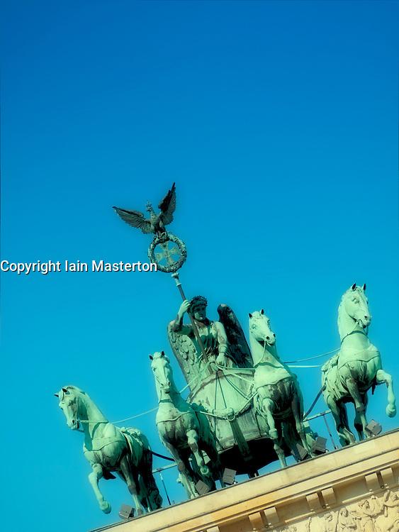 Brandenburg Gate in Berlin Germany