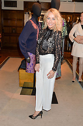 LAURA HAMILTON at an exclusive out of hours shopping evening 'Gifts for Goddesses' hosted by Mollie King in aid of mothers2mothers held at Liberty, Regent Street, London on 2nd March 2016.