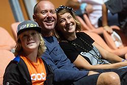 PORTOROZ, SLOVENIA - SEPTEMBER 17: Supporters  at quarterfinal match of the WTA 250 Zavarovalnica Sava Portoroz at SRC Marina, on September 17, 2021 in Portoroz / Portorose, Slovenia. Photo by Vid Ponikvar / Sportida