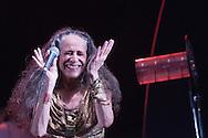Maria Bethania in concert at the Farol da Barra