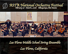 Las Flores Middle School String Ensemble