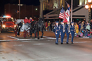 """Iowa USA, IA. Sioux City, The """"Downtown for the Holidays"""" parade November 2006"""