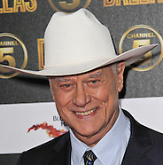 American film and television actor Larry Hagman dies 23 November 2012 aged 81
