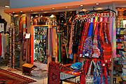 Israel, Abu Ghosh, an Israeli Arab village west of Jerusalem in the Mateh Yehudah Regional councils in the Judean Mountains souvenir shop