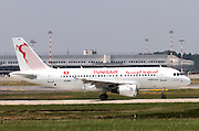 TS-IMO Tunisair Airbus A319-114