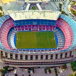 Camp Nou is a football stadium in Barcelona, Spain