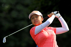 June 17, 2018 - Belmont, Michigan, United States - Wei-ling Hsu of Taiwan hits from the 2nd tee during the final round of the Meijer LPGA Classic golf tournament at Blythefield Country Club in Belmont, MI, USA  Sunday, June 17, 2018. (Credit Image: © Amy Lemus/NurPhoto via ZUMA Press)