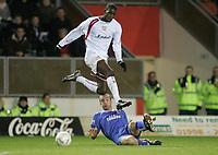 Photo: Marc Atkins.<br /> Milton Keynes Dons v Farsley Celtic. The FA Cup. 21/11/2006.