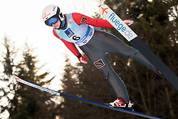 February 7, 2019 - Ljubno, Savinjska, Slovenia - Anna Shpyneva of Russia competes on qualification day of the FIS Ski Jumping World Cup Ladies Ljubno on February 7, 2019 in Ljubno, Slovenia. (Credit Image: © Rok Rakun/Pacific Press via ZUMA Wire)