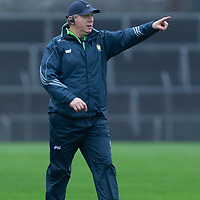 Clare's Co-Manager Donal Moloney gives directions from the sideline