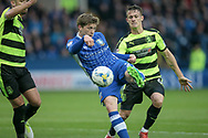 Adam Reach (Sheffield Wednesday) turns ad shoots, but the effort is saved during the EFL Sky Bet Championship play off second leg match between Sheffield Wednesday and Huddersfield Town at Hillsborough, Sheffield, England on 17 May 2017. Photo by Mark P Doherty.