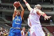 Danzica - Polonia 05 Agosto 2012 - TORNEO INTERNAZIONALE SOPOT CUP - Polonia Italia<br /> Nella Foto : GIUSEPPE POETA<br /> Foto Ciamillo