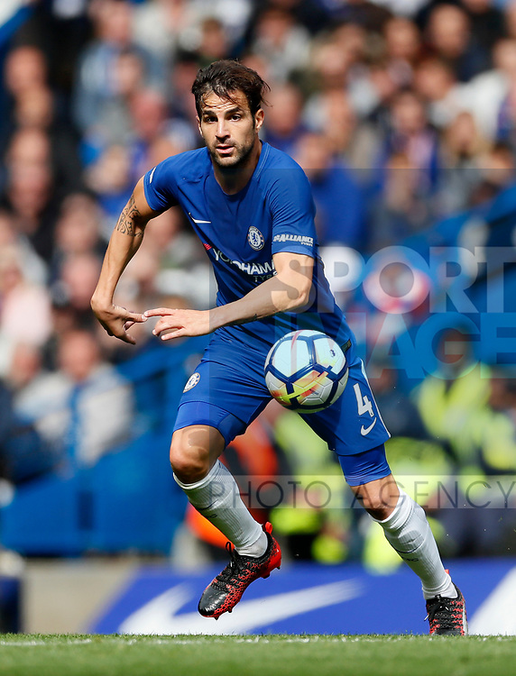 Chelsea's Cesc Fabregas in action during the premier league match at Stamford Bridge Stadium, London. Picture date 17th September 2017. Picture credit should read: David Klein/Sportimage