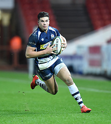 Ben Mosses inside centre for Bristol Rugby - Mandatory by-line: Paul Knight/JMP - Mobile: 07966 386802 - 11/12/2015 -  RUGBY - Ashton Gate Stadium - Bristol, England -  Bristol Rugby v Bedford Blues - British and Irish Cup