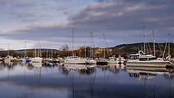 The Marina in the Caledonian Canal basin at Inverness, Scotlnad<br /> <br /> (c) Andrew Wilson | Edinburgh Elite media