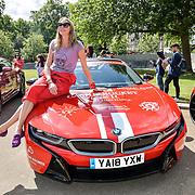 Jodie Kidd attend Cash & Rocket Photocall at Wellington Arch, on 6 June 2019, London, UK
