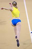 Anna Krasutska (Ukraine) Women's Triple Jump, during the European Athletics Indoor Championships at Emirates Arena, Glasgow, United Kingdom on 3 March 2019.