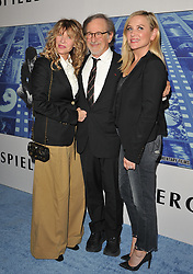 """Premiere of HBO's """"Spielberg"""". Paramount Studios, Hollywood, California. . EVENT September 26, 2017. 26 Sep 2017 Pictured: Steven Spielberg,Kate Capshaw,Jessica Capshaw. Photo credit: AXELLE/BAUER-GRIFFIN / MEGA TheMegaAgency.com +1 888 505 6342"""