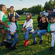 Finsbury park, London, UK. 4th August 2017. Nigerian / African community hosting a Nigerian Summer Party in the Park with live music, great food & drinks.