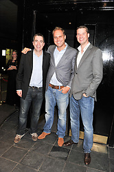 Left to right, PAUL DRUMMOND a co-founder of Quintessentially,  at the ELEQT Global Launch Party held at the Rose club, 23 Orchard Street, London, W1 on 23rd February 2012. ELEQT is the world's most exclusive international luxury lifestyle social network.