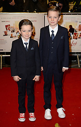 Matthew Stagg and William Stagg arriving at the UK Premiere of Mum's List, Curzon Cinema, London.<br /> Photo credit should read: Doug Peters/EMPICS Entertainment