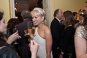CLARE BENNETT, Tatler magazine Jubilee party with Thomas Pink. The Ritz, Piccadilly. London. 2 May 2012