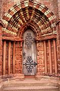 Doorway, St Magnus Cathedral, Kirkwall, Orkney Islands, Scotland