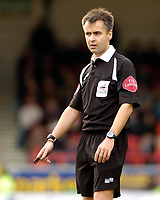 Photo: Leigh Quinnell.<br /> Swindon Town v Chester City. Coca Cola League 2. 24/02/2007. Referee R.Lee.