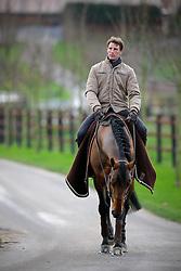 Staut Kevin (FRA) - Kraque Boom<br /> Les Ecuries d'Ecaussinnes - Naast 2009<br /> © Dirk Caremans