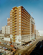 "Ackroyd C00662-1/3""Benson Hotel. Trader Vic's sign. November 15, 1961"""
