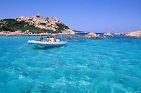"Passo degli Asinelli - Razzoli island - Maddalena archipelago - International Marin park of ""Bouches de Bonifacio"" - Sardinia - Italy"