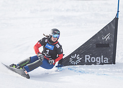 Ulbing Daniela during the FIS snowboarding world cup race in Rogla (SI / SLO) | GS on January 20, 2018, in Jasna Ski slope, Rogla, Slovenia. Photo by Urban Meglic / Sportida