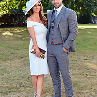 Singer Una Healy and Rugby star Ben Foden at the Brehon Hotel -Apres Killarney Races party on Thursday.<br /> Photo: Don MacMonagle<br /> <br /> <br /> pr photo photo from The Brehon Hotel