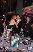 Sasha Swire,David Cameron,  b and w Conservative ball. 8 feb 2006
