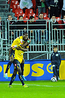 FOOTBALL - FRENCH CHAMPIONSHIP 2010/2011 - L1 - STADE BRESTOIS v FC SOCHAUX - 13/11/2010 - PHOTO PASCAL ALLEE / DPPI - JOY AIDE BROWN IDEYE (SOC)