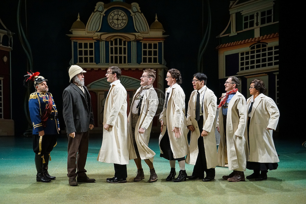 Seattle Children's Theatre production of Chitty Chitty Bang Bang. November 2015. Photo by Alan Alabastro.