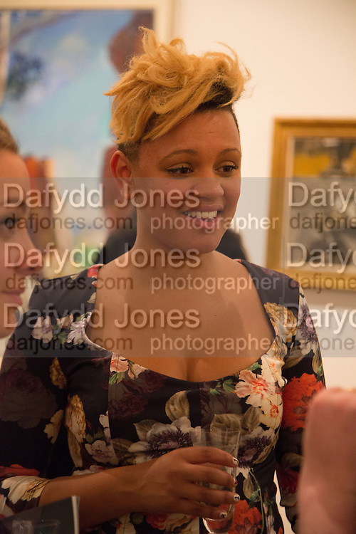GEMMA CAIRNEY, Gala Opening of RA Now. Royal Academy of Arts,  8 October 2012.