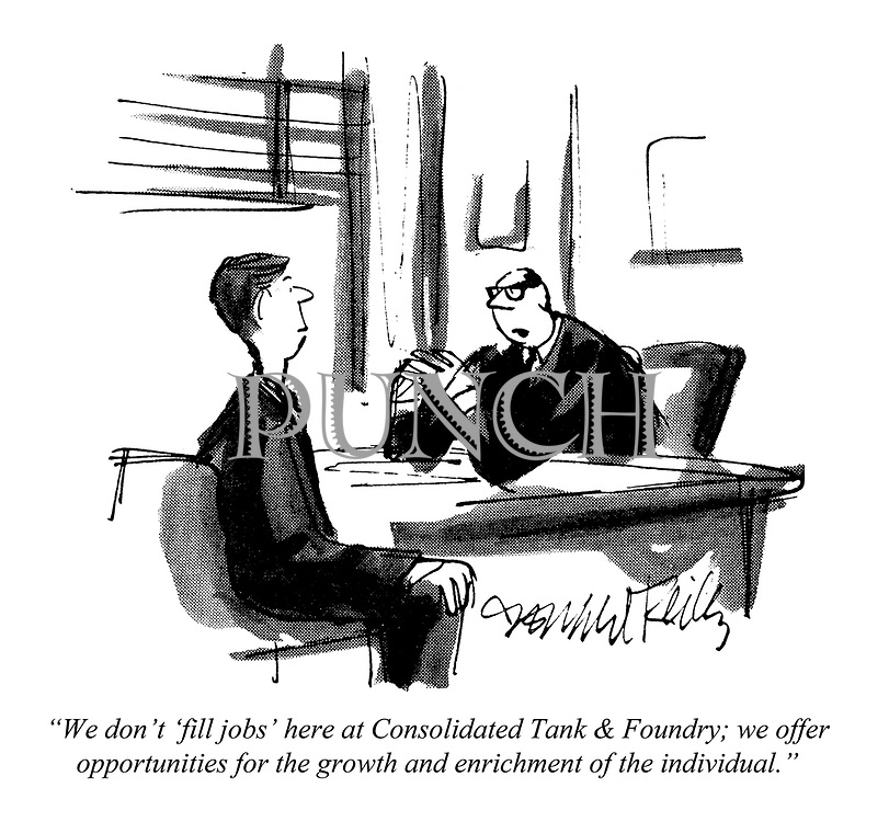 """""""We don't 'fill jobs' here at Consolidated Tank & Foundry; we offer opportunities for the growth and enrichment of the individual."""""""