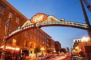 Gateway Arch, Gaslamp Quarter, San Diego, California (SD)