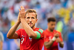July 7, 2018 - Samara, Russia - 180707 Harry Kane of England recognizes the fans after the FIFA World Cup quarter final match between Sweden and England on July 7, 2018 in Samara..Photo: Petter Arvidson / BILDBYRÃ…N / kod PA / 92083 (Credit Image: © Petter Arvidson/Bildbyran via ZUMA Press)