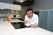 THE LAUNCH OF TETSUYA'S GALLERY, KENT ST..TETSUYA IN THE NEW ELECTROLUX KITCHEN..PICS: PAUL LOVELACE 17-02-04.