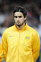 Australia's Rhys Williams before the International football Friendly Game 2013/2014 between France and Australia on October 11, 2013 in Paris, France. Photo Jean Marie Hervio / Regamedia/ DPPI