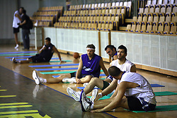 at first open practice of KK Union Olimpija in the new season 2008/2009, on August 21, 2008 in Hala Tivoli, Ljubljana, Slovenia. (Photo by Vid Ponikvar / Sportal Images)
