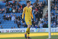 Luca Ashby-Hammon of England (1) during the UEFA European Under 17 Championship 2018 match between England and Israel at Proact Stadium, Whittington Moor, United Kingdom on 4 May 2018. Picture by Mick Haynes.